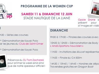 LES ANIMATIONS DE LA WOMEN CUP