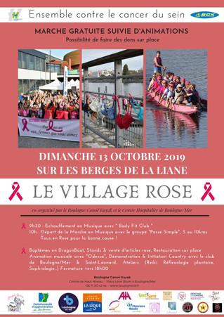 LES DRAGON LADIES INVESTIES POUR OCTOBRE ROSE !