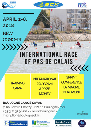 REGISTRATION INTERNATIONAL RACE 2018