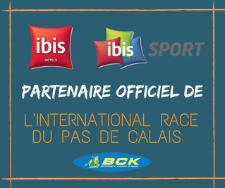 IBIS, PARTENAIRE OFFICIEL DE L'INTERNATIONAL RACE DU PAS DE CALAIS 2020