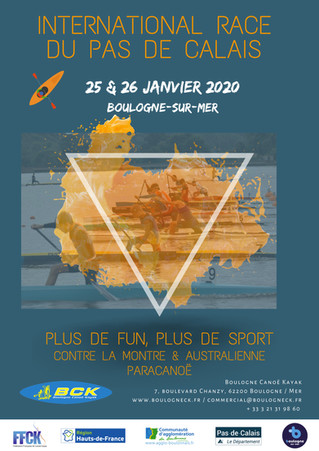 INTERNATIONAL RACE OF PAS-DE-CALAIS 2020 - REGISTRATION