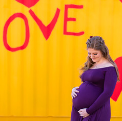Candice and Charlie Maternity Portrait S