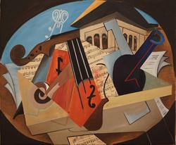 Violin en los Abencerrajes 50x60