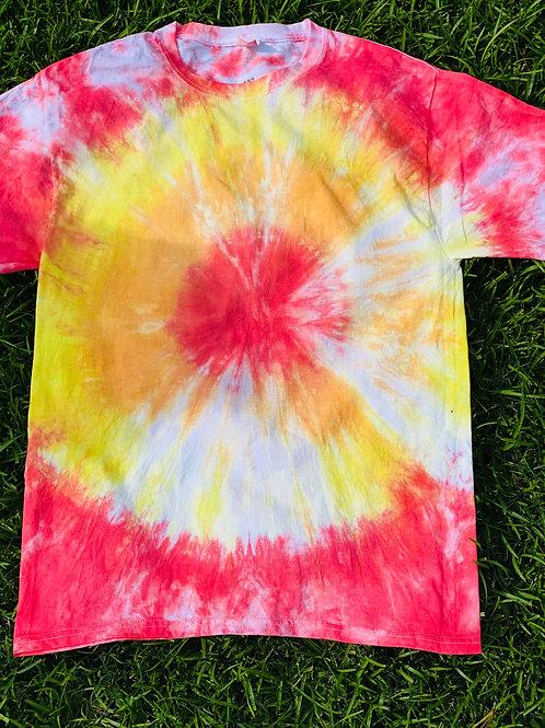 Tie Dye T-Shirt (Bullseye)
