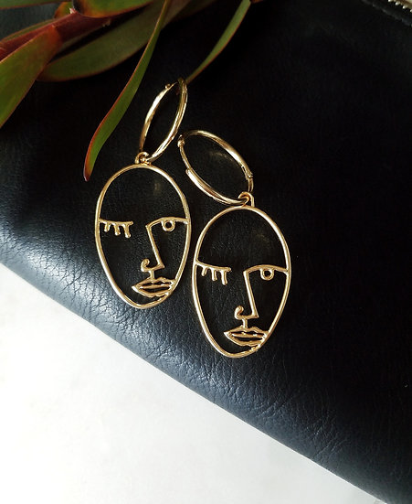 Portia Abstract Earrings