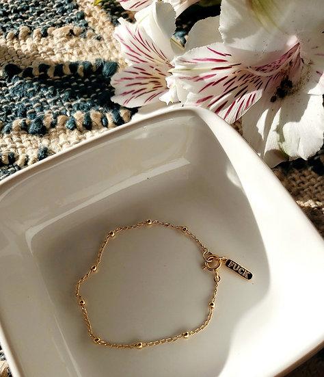 F*ck Gold Pill Bracelet