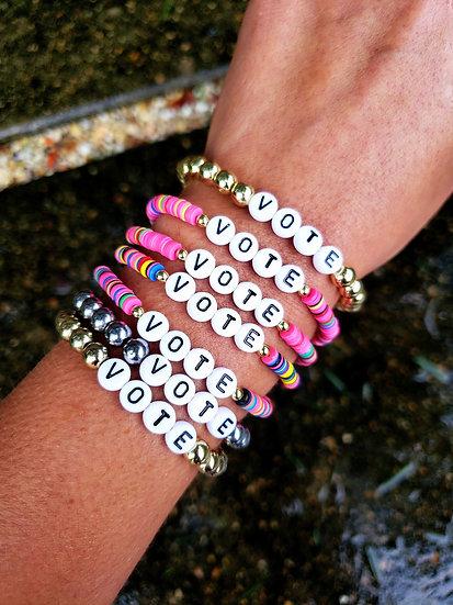 VOTE Stretch Bracelet