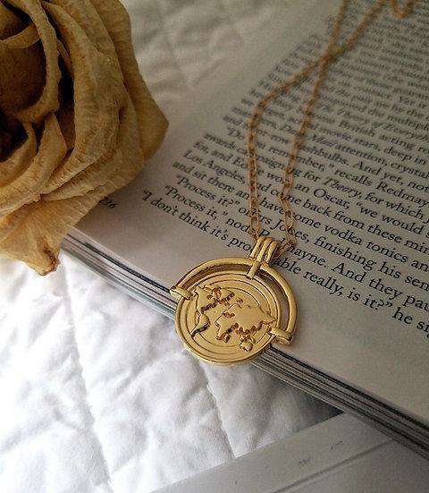 Wanderlust Medallion Necklace