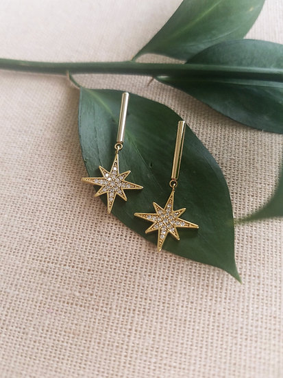 Star Drop Earrings Wholesale