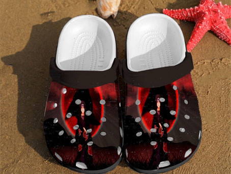 Best - Uchiha Sasuke Anime Crocs Clog Shoes