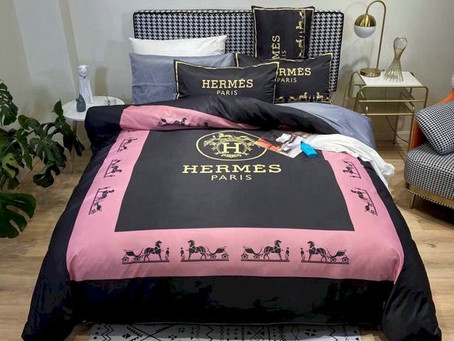 Shop - Hermes Paris Luxury Brand Type 46 Hermès Bedding Sets Duvet Cover