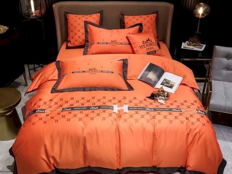 Buy - Hermes Paris Luxury Brand Type 53 Hermès Bedding Sets Duvet Cover