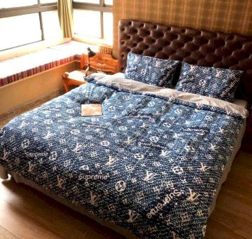 Best - LV Luxury Brand Louis Vuitton Type 179 Bedding Sets Duvet Cover