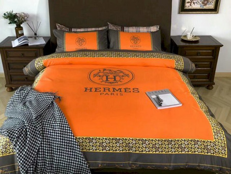 Buy - Hermes Paris Luxury Brand Type 55 Hermès Bedding Sets Duvet Cover