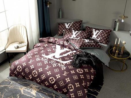 Hot - LV Luxury Brand Louis Vuitton Type 160 Bedding Sets Duvet Cover
