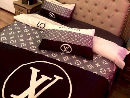 Hot - LV Luxury Brand Louis Vuitton Type 168 Bedding Sets Duvet Cover