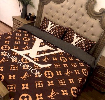 Best - LV Luxury Brand Louis Vuitton Type 177 Bedding Sets Duvet Cover