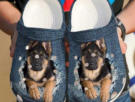 Buy - German Shepherd Baby Crocs Clog Shoes