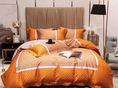 New - Hermes Paris Luxury Brand Type 54 Hermès Bedding Sets Duvet Cover