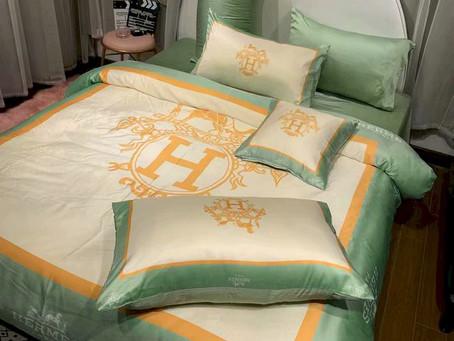 New - Hermes Paris Luxury Brand Type 60 Hermès Bedding Sets Duvet Cover