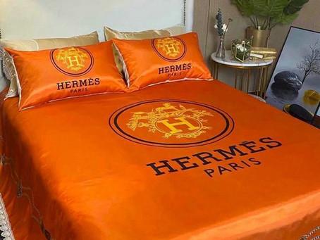 Shop - Hermes Paris Luxury Brand Type 58 Hermès Bedding Sets Duvet Cover