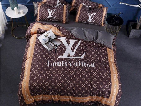 New - LV Luxury Brand Louis Vuitton Type 166 Bedding Sets Duvet Cover