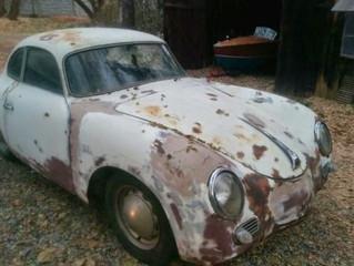 AVFANS comienza la restauraciónde un espectacular Porsche 356 A