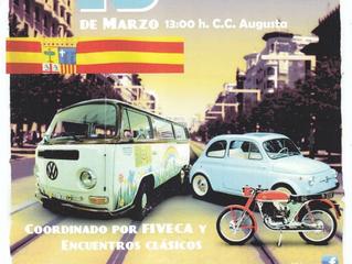 AFVANS participó en la Jornada del Patrimonio Cultural Automovilístico de Aragón