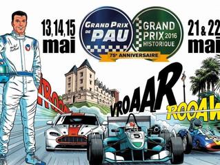 AVFANS participa nuevamente en el Gran Prix Historique de Pau 2016