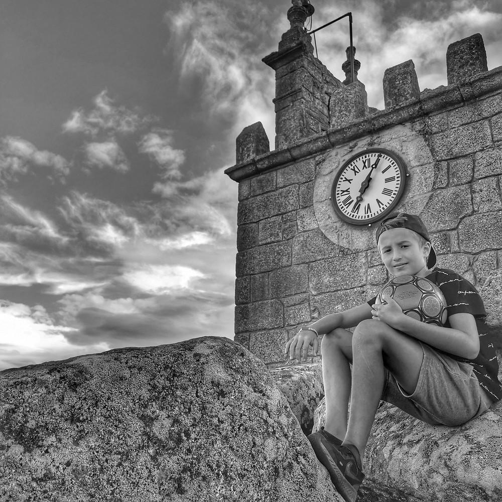 Pormenor da Torre do Castelo da Mêda