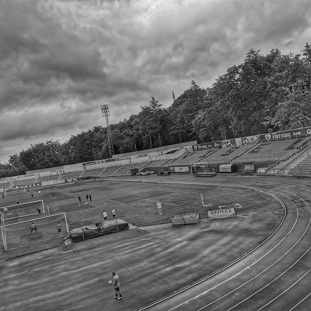 Pista de atletismo Estádio do Fontelo em Viseu