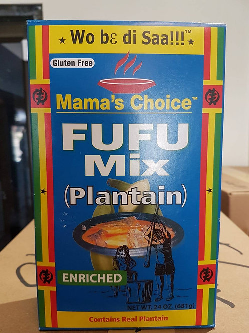 Plantain Fufu mix