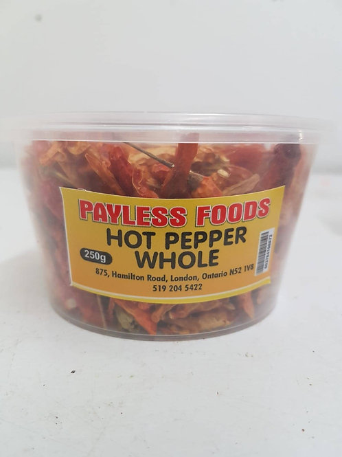 Hot Pepper Whole