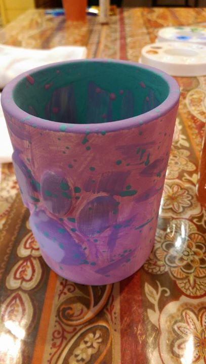 Fancy cup