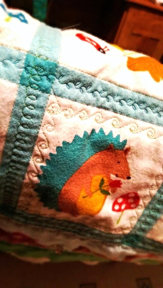 More stitching
