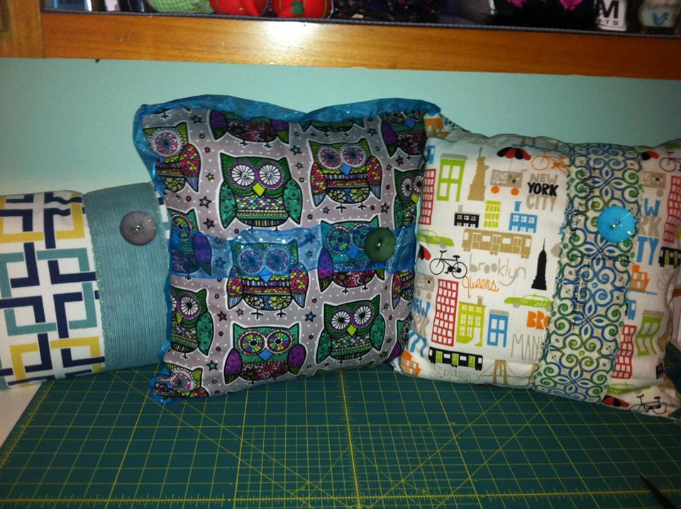 Designer house pillows