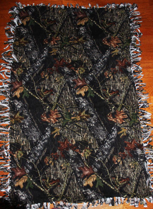 Hunting/military style Tye blanket