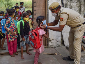 Children left orphaned by the pandemic in India