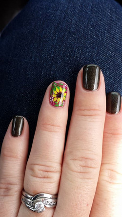 Flower accent for the win!