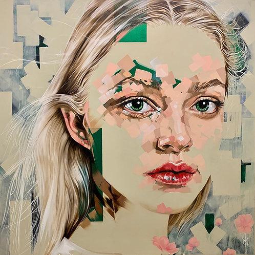 'L'Innocent' Fine Art Canvas Print Unstretched