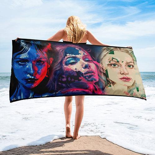 Michelle Kohler Art Custom Towel