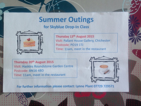 August Summer Outings