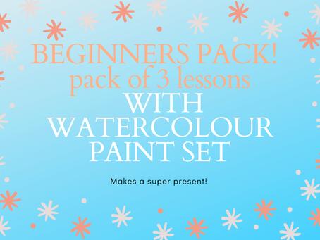 Lessons & Paints A Super Gift!