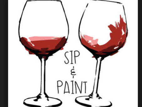 Sip and Paint anyone?