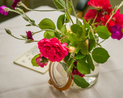 Roses for the tables
