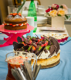 Cakes and Pimms