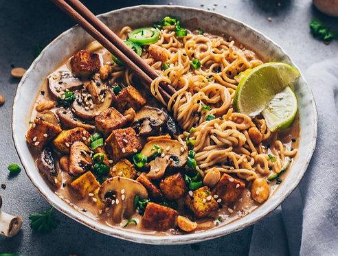 Thai Ramen Noddle Bowl (Vegan/GF)