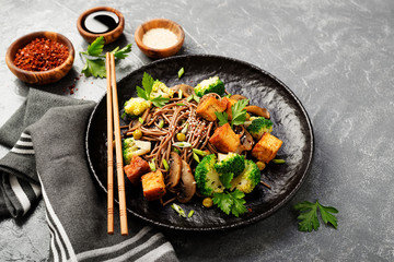 Teriyaki Noodle Bowl (Vegan/GF)