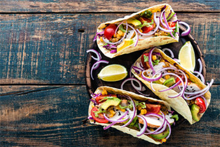 Tempeh Tacos (Vegan/GF option)