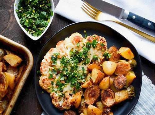 Cauliflower Steaks (Vegan/GF)